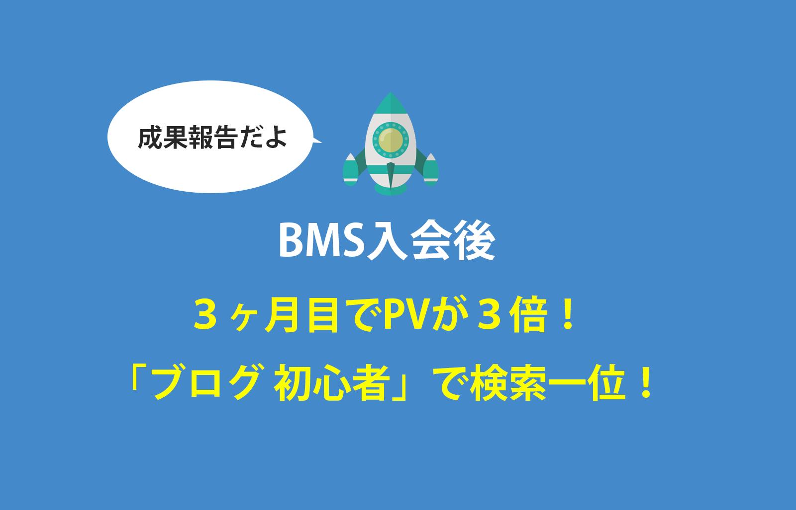 BMS成果報告