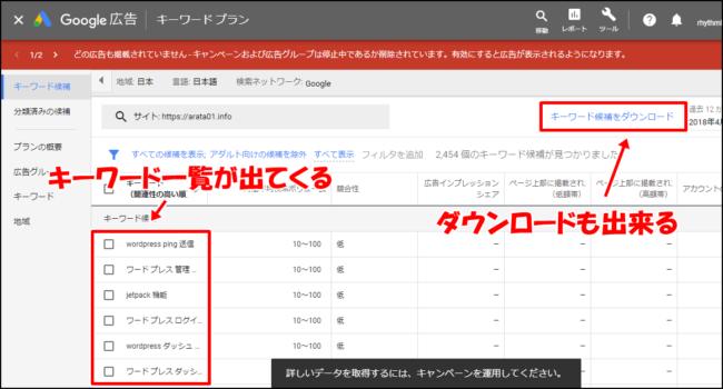 ブログの検索ワードを調べる方法