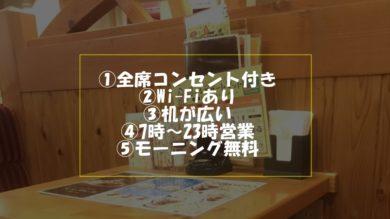 【驚愕】会津若松のコメダ珈琲が控え目にいって神でした。