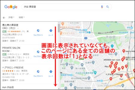 Googleマイビジネスの表示回数とは?